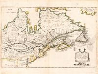 Map Of Canada (Nouvelle France) 1643 As Poster
