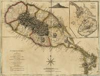 Map Of Saint Christophers Island (Saint Kitts) From 1775