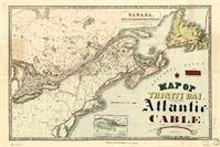 Map Of Trinity Bay, Telegraph Station Of The Atlantic-Cable (1901) As Calendar
