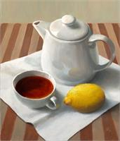 Tea With Lemon As Framed Poster