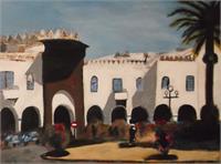 Plaza Espania Larache Morocco