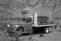 Sepia Coke Truck