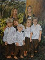 7 Grandchildren Portrait