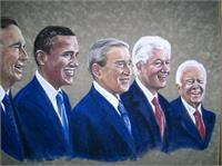 Five Living Presidents 2009