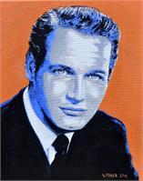 Paul Newmann As Framed Poster