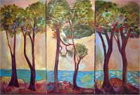 Trees Triptych