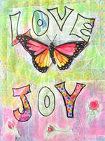 Love And Joy As Framed Poster