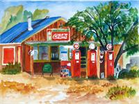 Frontier Gas Station