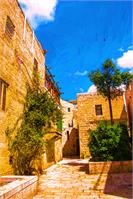 Narrow Streets Of Old City