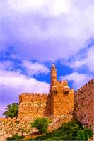 .David`s Tower-symbol Jerusalem.Israel
