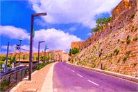 The Wall Of Old Jerusalem