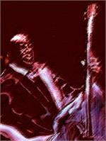 Bass_player_canson_paper_xcf As Framed Poster