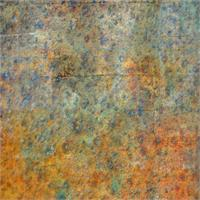 Blue And Copper Textures Abstract As Poster