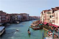 The Grand Canal Venice-Oil Effect