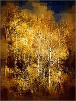 Gothic Aspen Trees 2