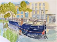 Canal Boat, Dublin
