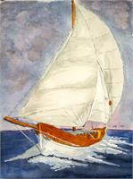Sailing Boat As Poster