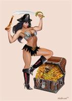 Pirate Girl S Treasure Chest