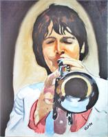 Paul McCartney On Trumpet
