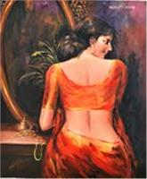 Sensuous Lady Back