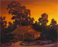Pioneers Log Cabin