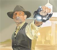 "Film Title: Cowboys & Aliens...DANIEL CRAIG Stars As Jake Lonergan In Universal Pictures And DreamWorks' ""Cowboys & Aliens"", Directed By Jon Favreau."