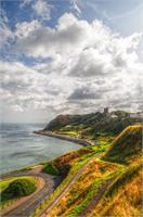 Fine Art Photograph Of Scarborough North Bay In Yorkshire, England