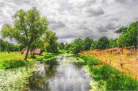 Fine Art Photograph Of The River Avon In Warwickshire, England