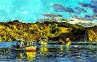 Fishing Boats Vincent