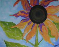 Abstract Sunflower 3