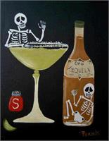 Margarita Time 2 As Framed Poster