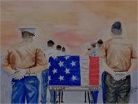 Remember The Fallen As Framed Poster
