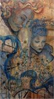 Blue Ladies 16x15x25 2013