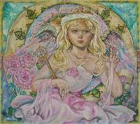 Yumi Sugai,        The angel of the pink sapphire.