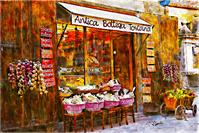 Antica Bottega Toscana As Greeting Card