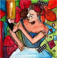 Myra Scribble Degas #2