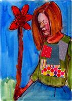Myra Sunflower Girl