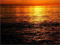 Sunset C As Framed Poster