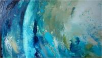 """Heavenly Being"", 40 X 70 Cm, Oils, 2012"