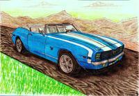"1969' Convertible Camaro SS 396"" Classic"