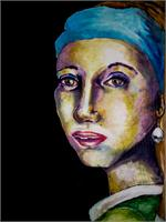 Gal With A Pearl Earring