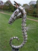 Seahorse-Stanger Moore Sculpture