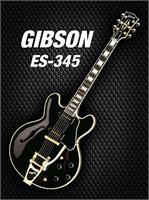 Black Gibson-es-345