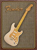 Fender Stratocaster Classic Player As Framed Poster