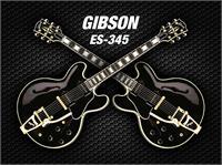 Double Black Gibson-es-345