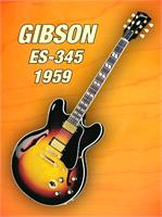Gibson-es-345 1959 As Framed Poster