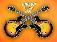 Double gibson-es-345  1959