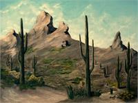 Daybreak In The Desert