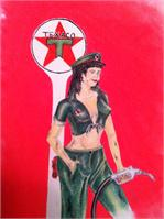 Texaco Pin Up