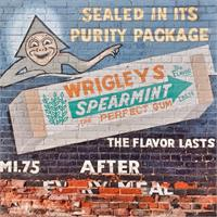 Vintage Wriggles Spearmint Gum Ad As Poster